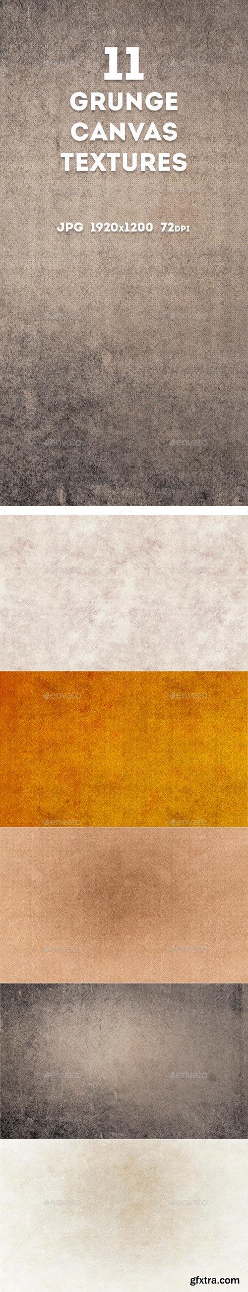GR - Grunge Canvas Textures