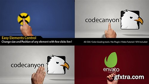 Videohive Classic Hands Logo Reveal Intro 9944315 (SFX included)