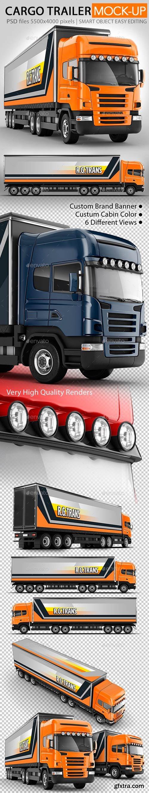 GR - Road train, Trailer Truck mock-up
