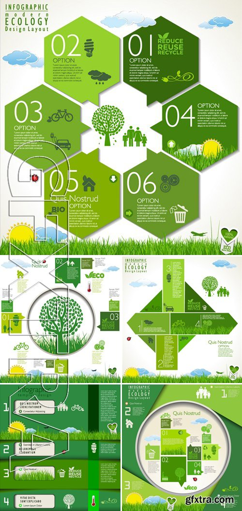 Stock Vectors - Ecology template 2