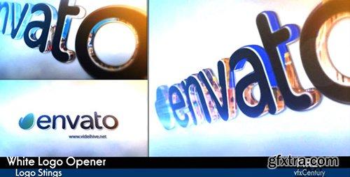 Videohive White Logo Opener 10694112