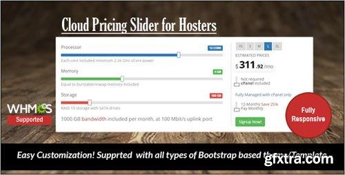 Cloud Pricing Slider - Codecanyon 9827795