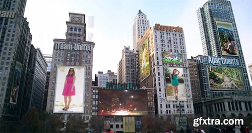 Videohive City - Ads on Buildings 6335275