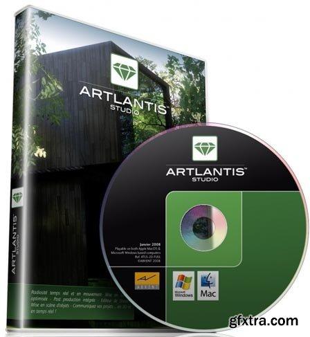 Abvent Artlantis Studio v6.0.2.1 Multilingual (Mac OS X)