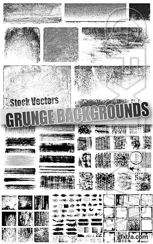 Grunge textures - Stock Vectors
