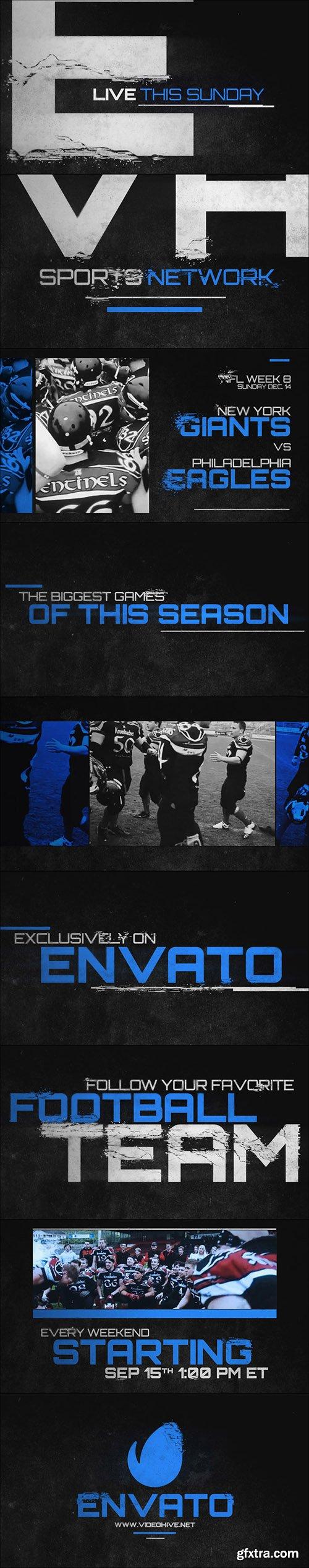 Videohive Grunge Sports Promo 9020921
