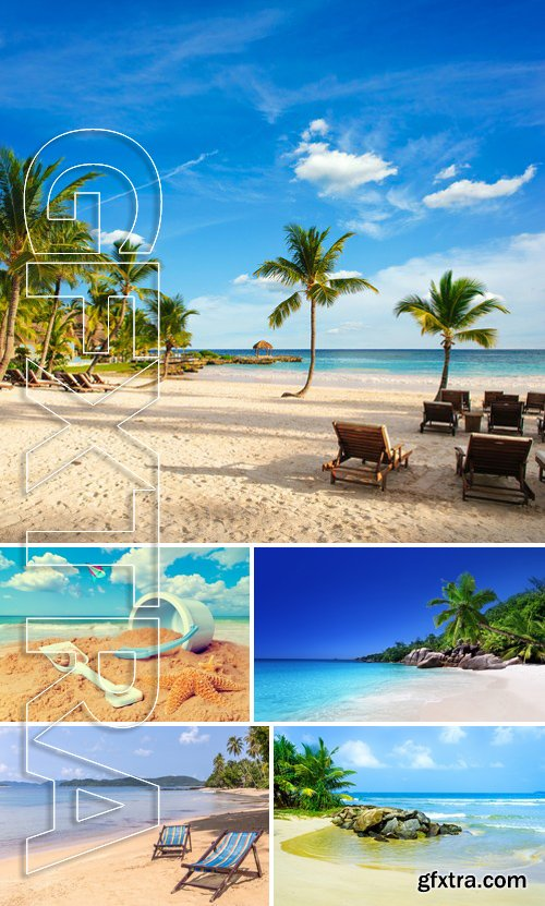 Stock Photos - Beach Background