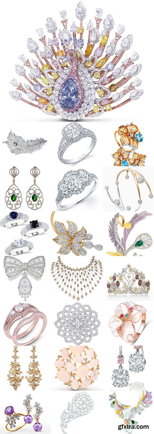 Beautiful jewelry Raster Graphics