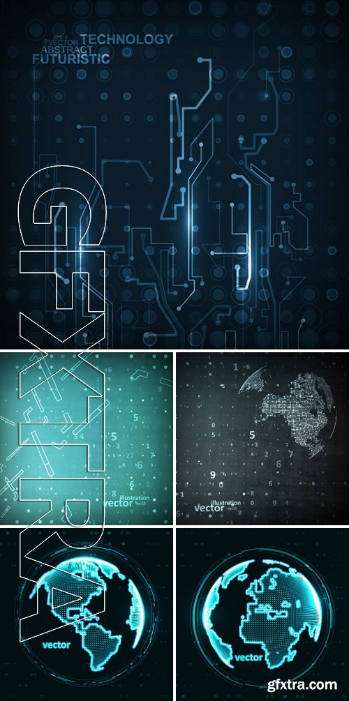 Stock Vectors - Abstract Technology Illustration