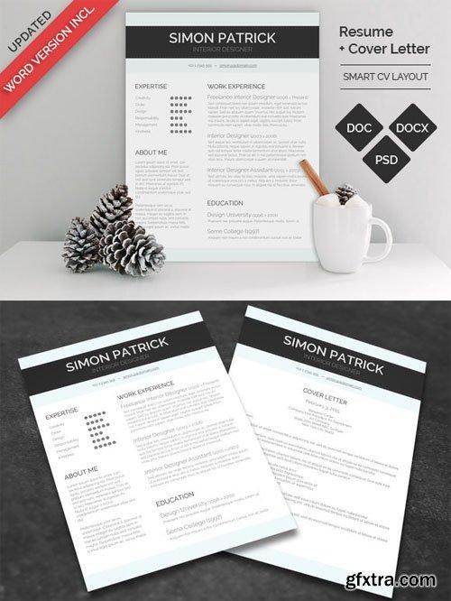CM - Smart Word CV & Cover Letter 164288