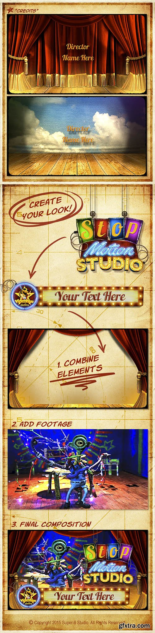 Videohive Creative Studio Promo Package 10089462
