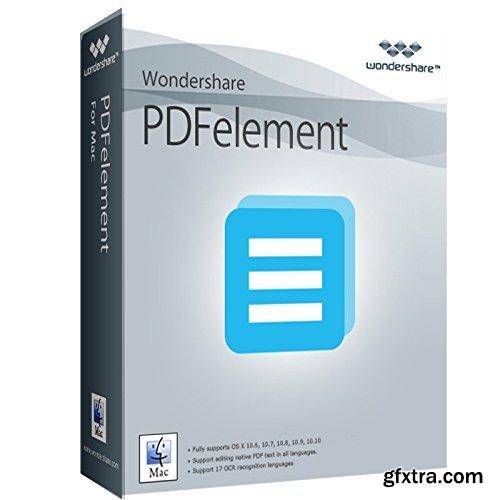 Wondershare PDFelement with OCR Plugin 4.0.2 Multilingual MacOSX
