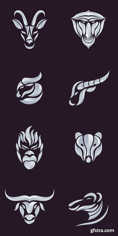 Animals Logo Vector