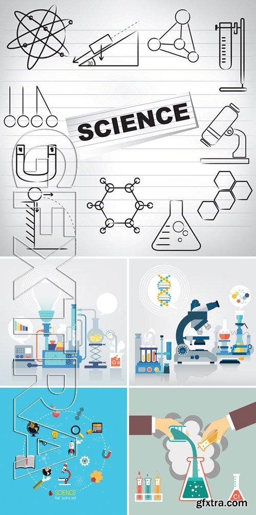 Stock Vectors - Science Concept 5