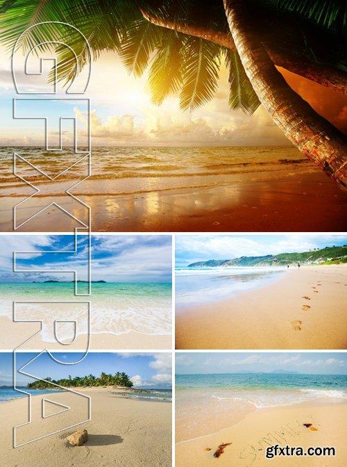 Stock Photos - Beach Background 2
