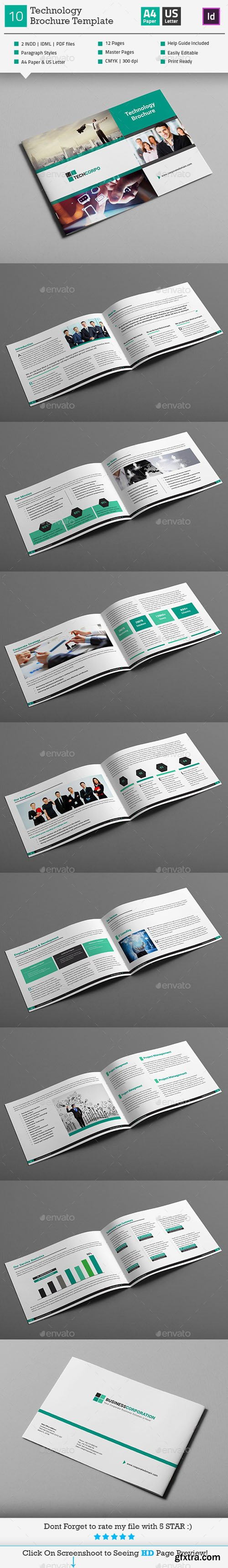 GraphicRiver Technology Landscape Brochure Template_V10 / 11030221