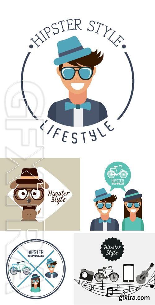 Stock Vectors - Hipster lifestyle design, vector illustration