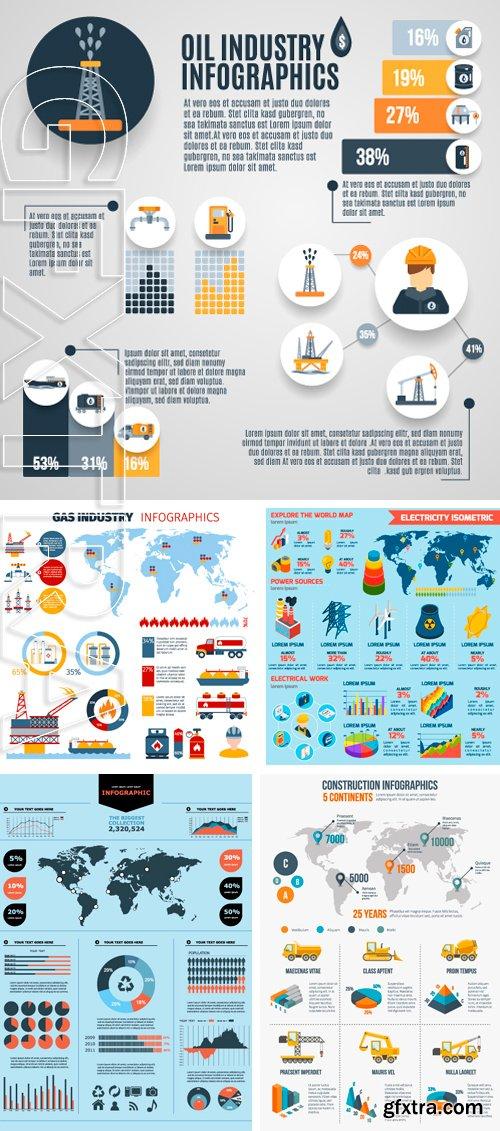 Stock Vectors - Vector elements set of infographics