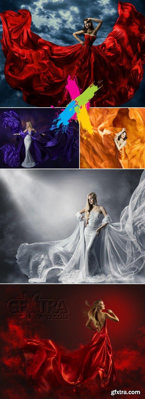 Stock Photo - Woman Wearing Dress 2