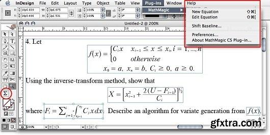 MathMagic Pro for Adobe InDesign 9.1 (Mac OS X)