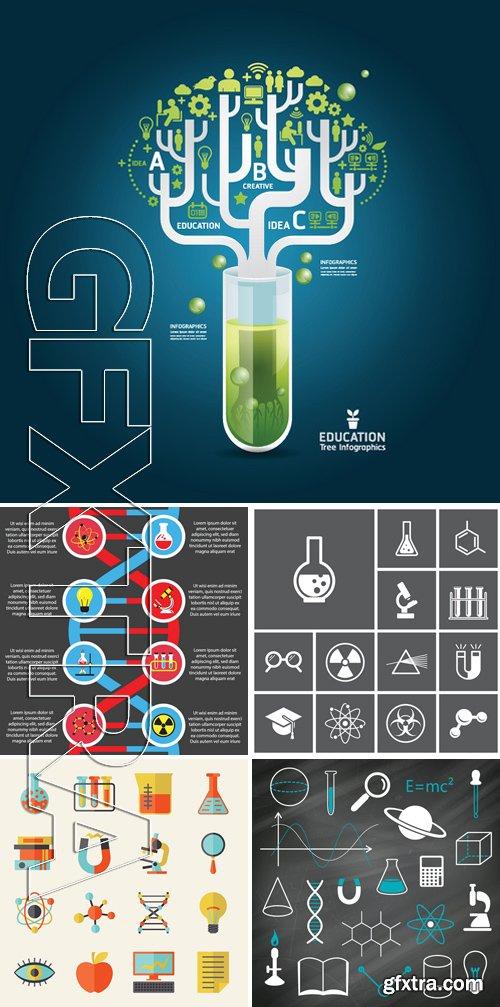 Stock Vectors - Science Concept 8