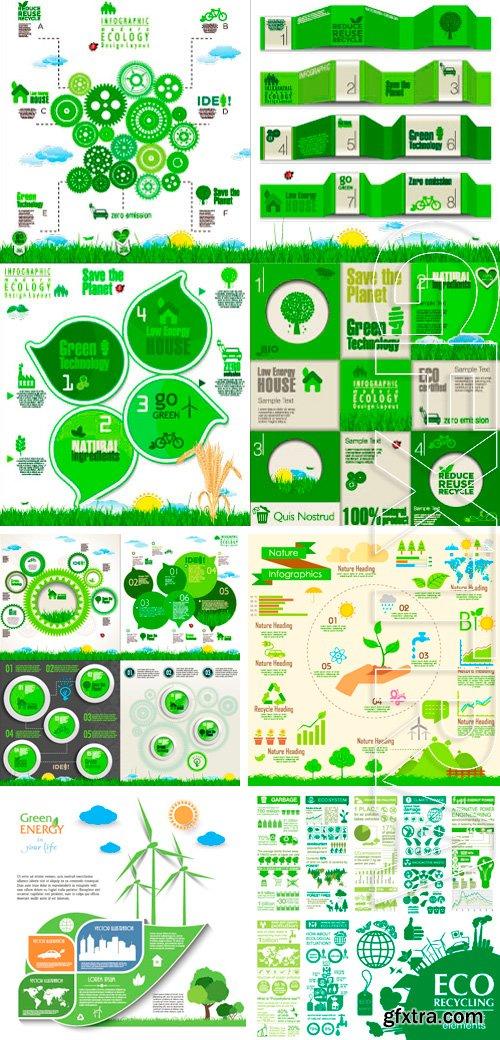 Stock Vectors - Modern ecology Design Layout