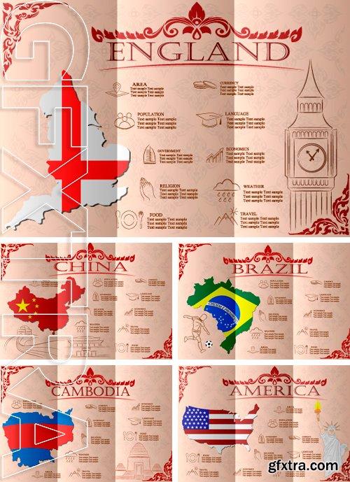 Stock Vectors - Vector illustration infographics, statistical data, sights