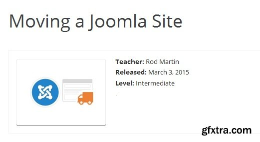 Moving a Joomla Site