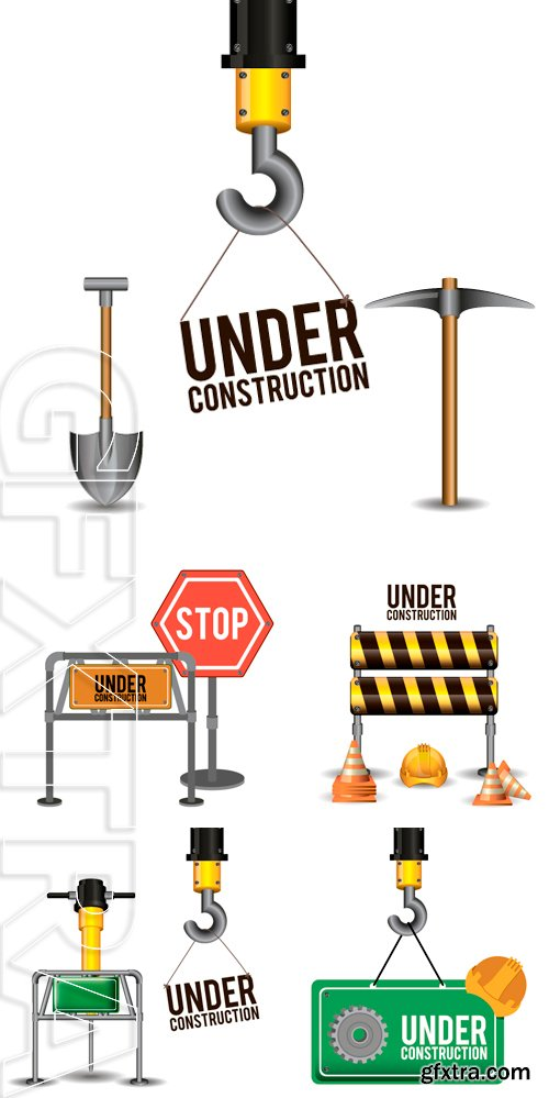 Stock Vectors - Under Construction design