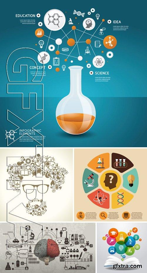 Stock Vectors - Science Concept 9