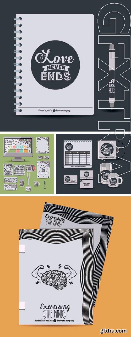 Stock Vectors - Corporate identity design