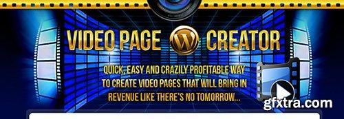WP Video Page Creator Plugin v1.0