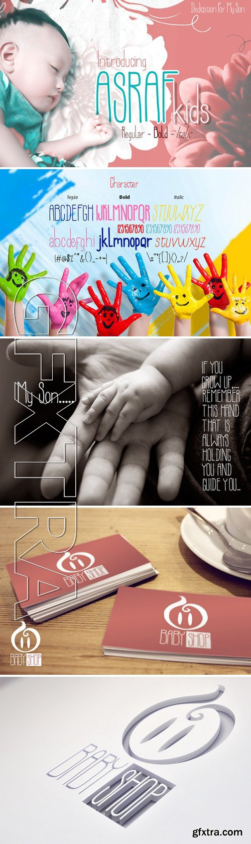 CM - Asraf Kids Family 250364
