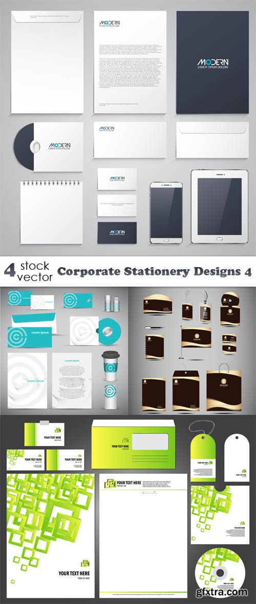 Vectors - Corporate Stationery Designs 4