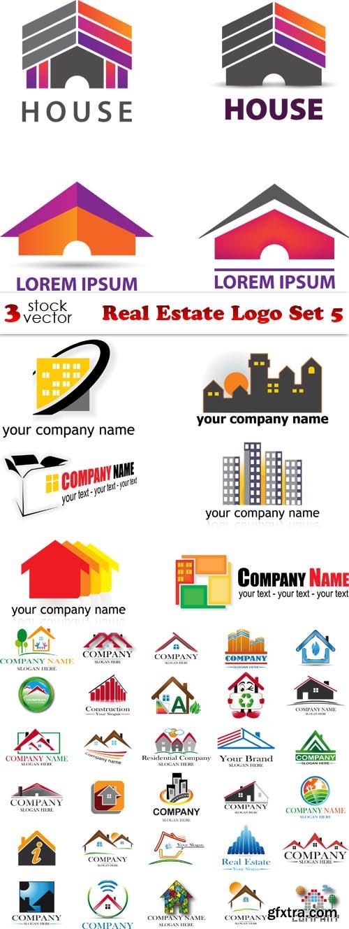 Vectors - Real Estate Logo Set 5