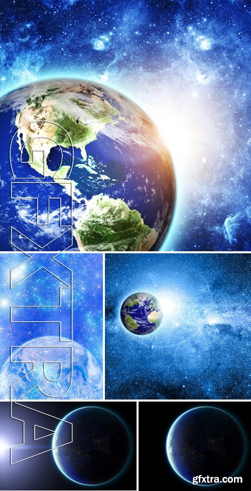 Stock Photos - Planet Earth In Space 4