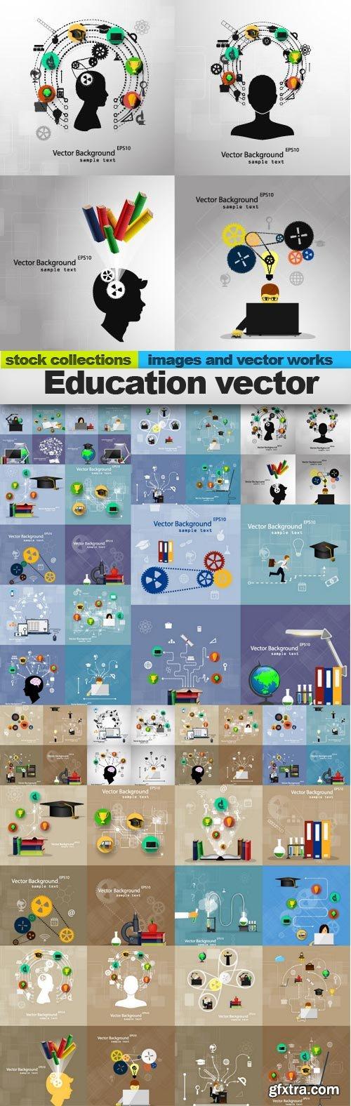 Education vector, 15 x EPS