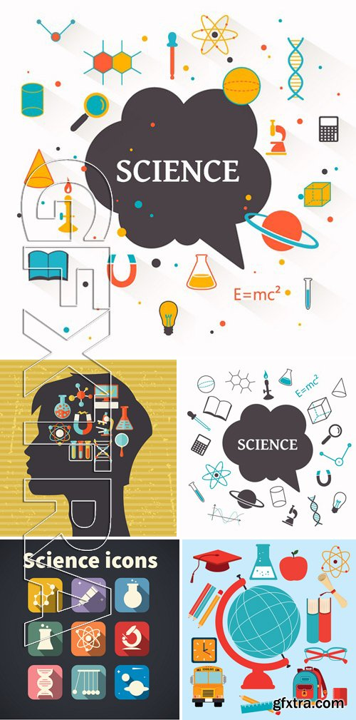 Stock Vectors - Science Concept 10