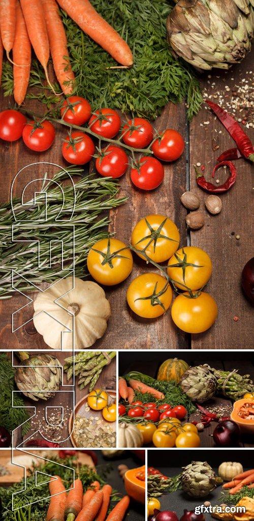 Stock Photos - Fresh Vegetables