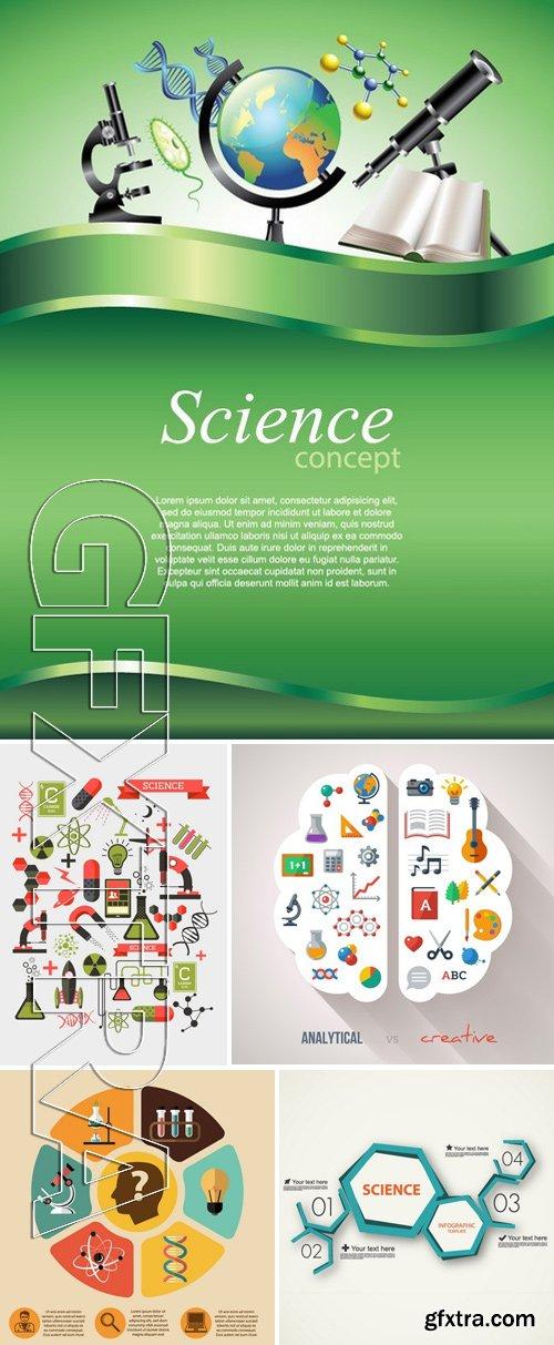 Stock Vectors - Science Concept 11