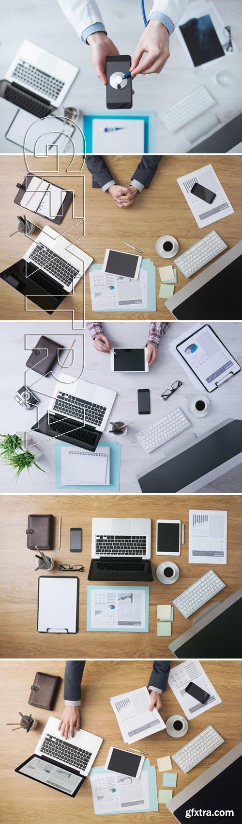 Stock Photos - Workplace Businessman