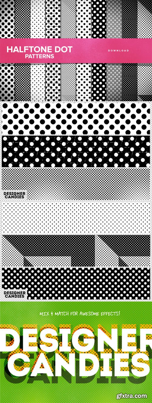 Halftone Dot Photoshop Patterns