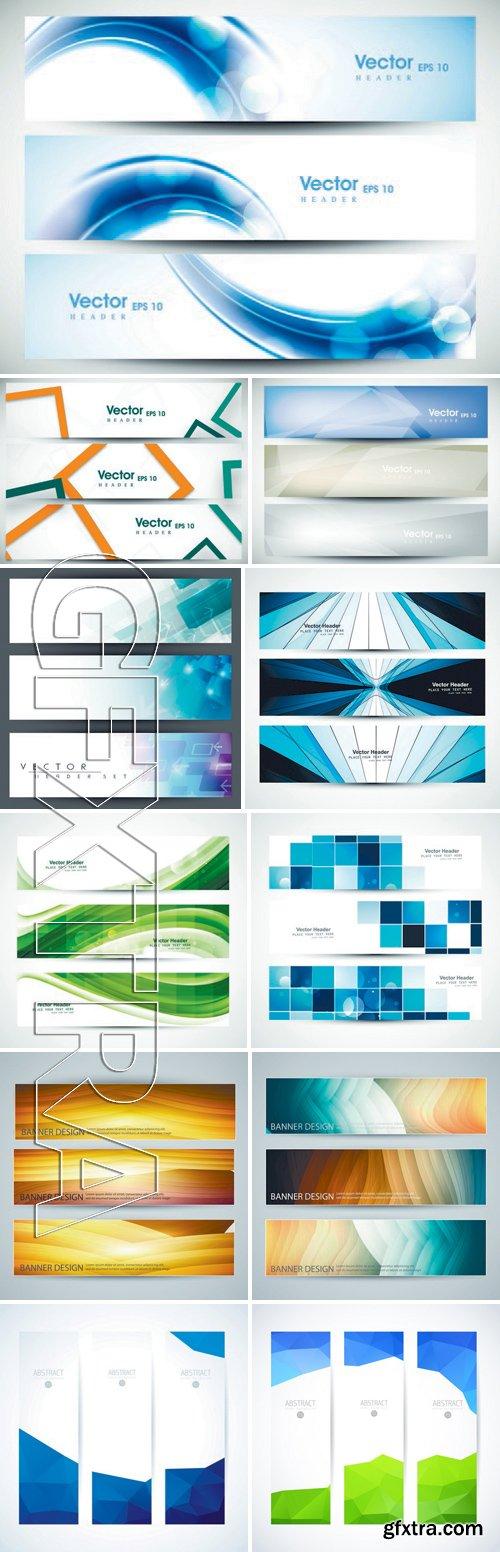 Stock Vectors - Abstract Banner Design 9