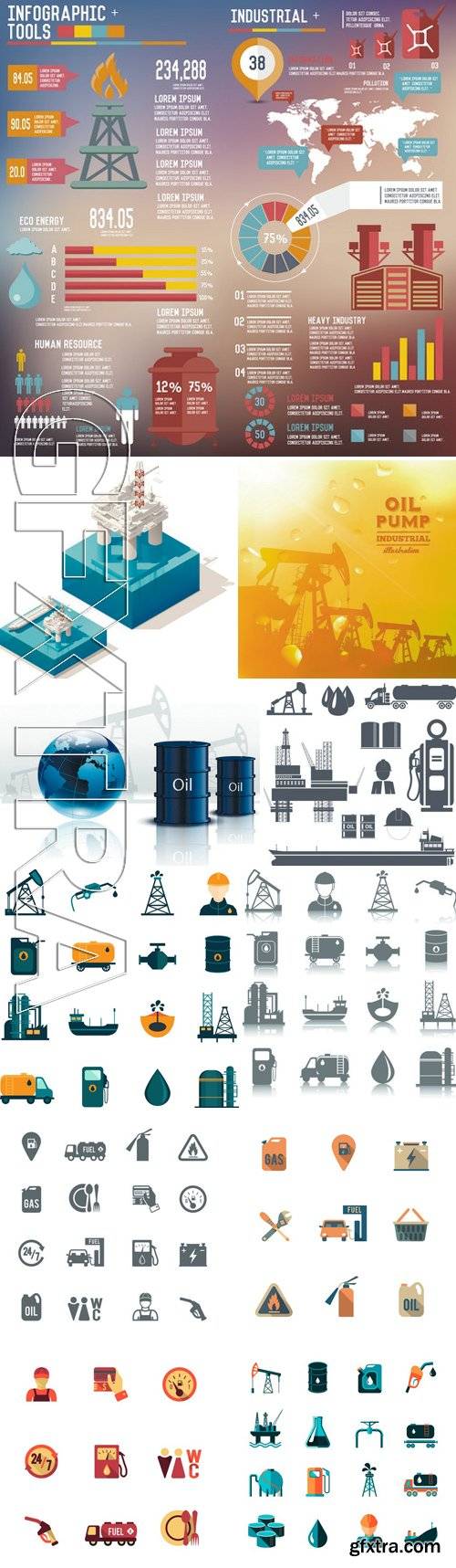 Stock Vectors - Industry Design 2