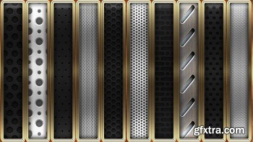 Metal Grid Photoshop Styles V1
