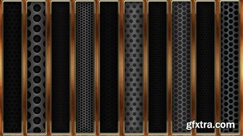 Metal Grid Photoshop Styles V2