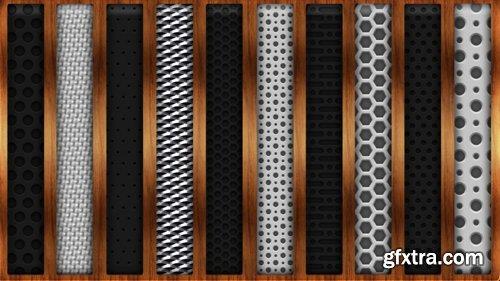 Metal Grid Photoshop Styles V3