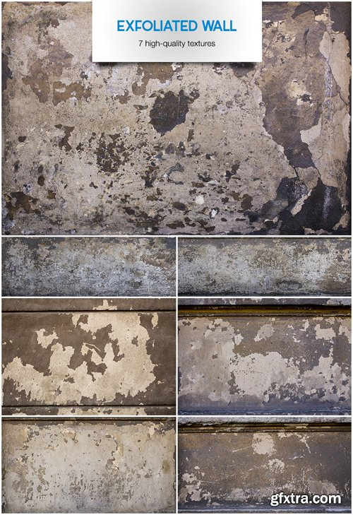 Exfoliated Wall - Stock Textures