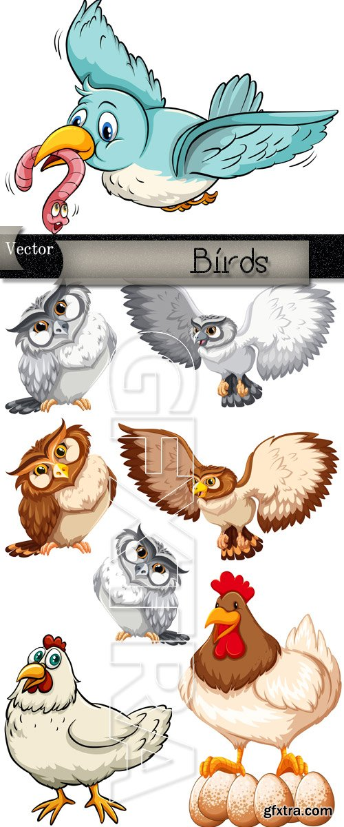 Birdies in Vector