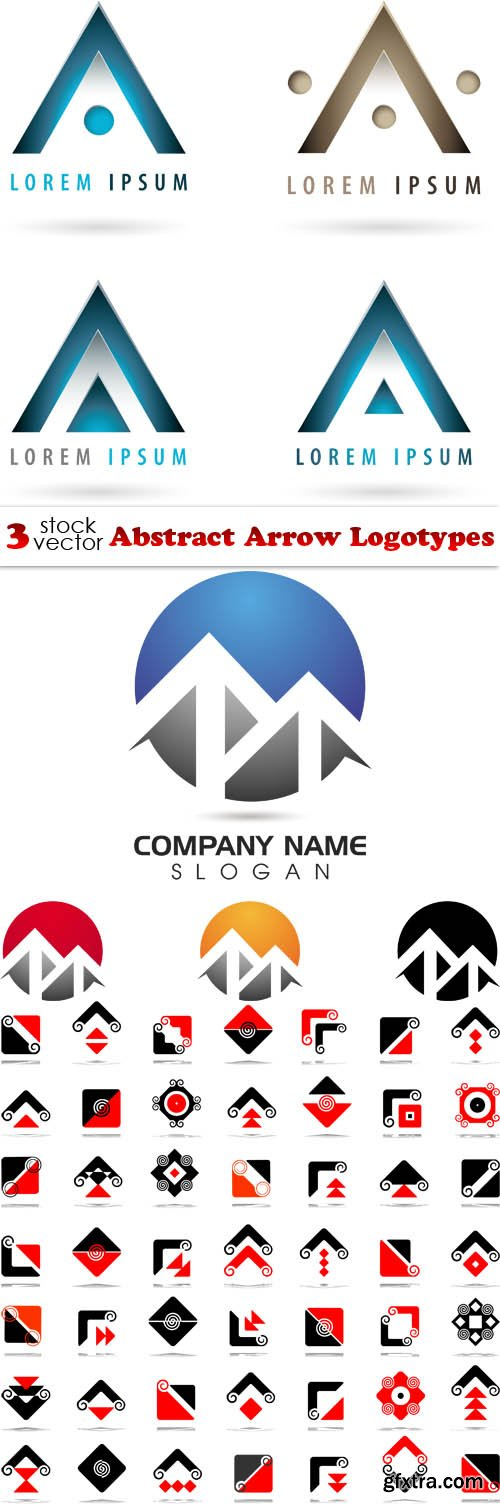Vectors - Abstract Arrow Logotypes